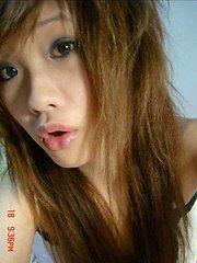 Pictures of lovely Oriental teens