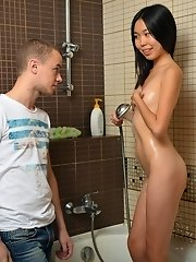 Asian teenage sweetheart shagging