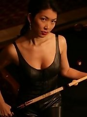 Jeanette Lee sizzling hot and sexy in black