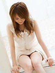 Cute sexy Airin is a model who is also a slut