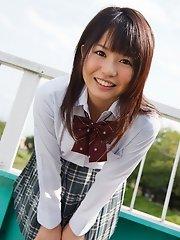 Nozomi Kashiwagi Naughty Schoolgirl