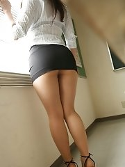 Pretty Asian teen