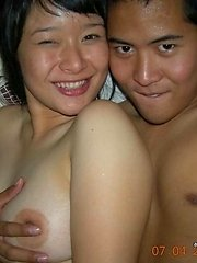Photo selection of amateur sexy naughty Asian bitches