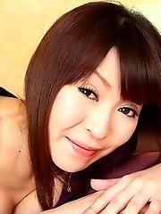 Hot woman Jun Kusanagi shows off