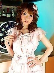 Super hot Asian gal Shiori Amano