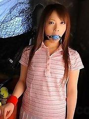 Many sex toys for hot Nazuna Otoi