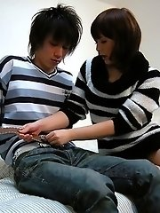 Yukina Mori gets a nice cum load