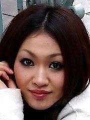 Hot Yu Yamashita poses outdoor