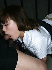 Schoolgirl Nana Kimiki  locks herself in a cage in complete darkness for 48 hours.