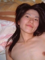 Nice gallery of a sexy hot kinky Asian girlfriend